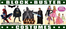 Blockbuster Costumes Free Shipping Code