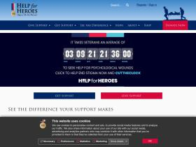 Help For Heroes Free Delivery Code